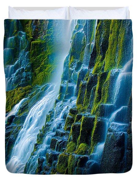 Veiled Wall Duvet Cover