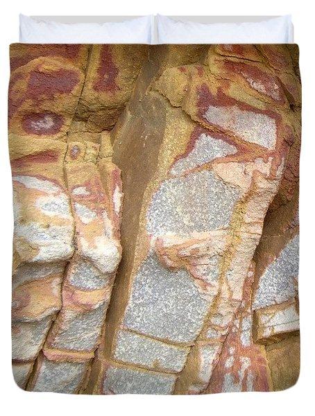 Veined Rock Duvet Cover by Barbie Corbett-Newmin
