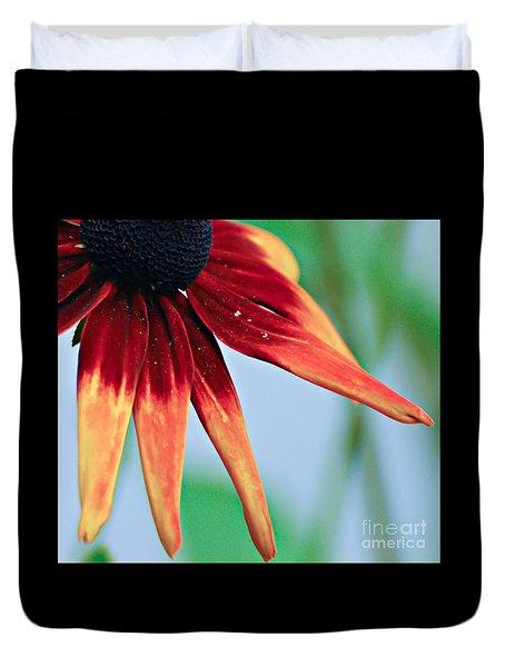 Velvet Petals Duvet Cover