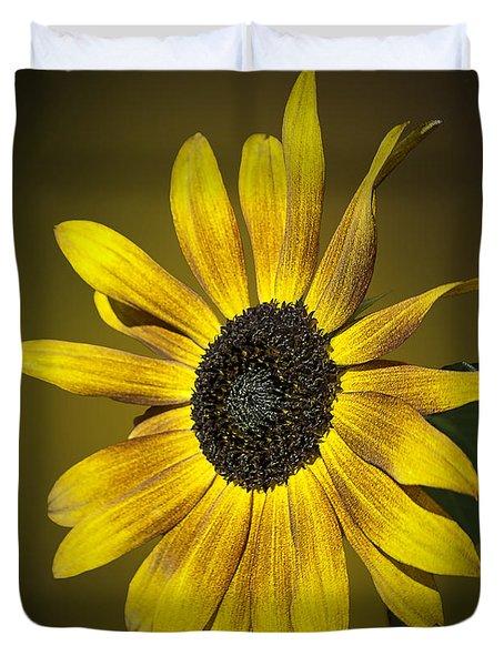 Velvet Queen Sunflower Duvet Cover
