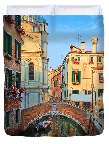 Venetian Paradise Duvet Cover by Inge Johnsson