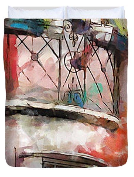 Venetian Windows 4 Duvet Cover by Greg Collins