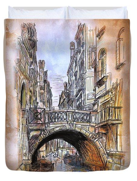 Venice 2 Duvet Cover