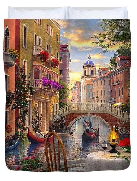 Venice Al Fresco Duvet Cover