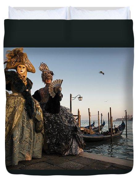 Venice Carnival '15 IIi Duvet Cover