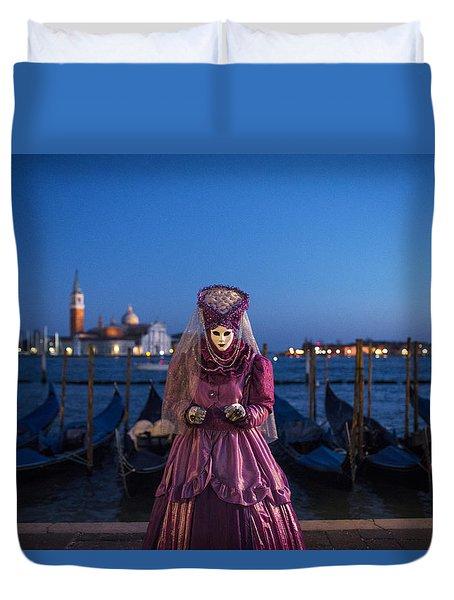 Venice Carnival '15 V Duvet Cover