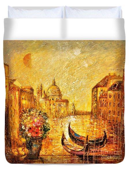 Venice II Duvet Cover by Shijun Munns