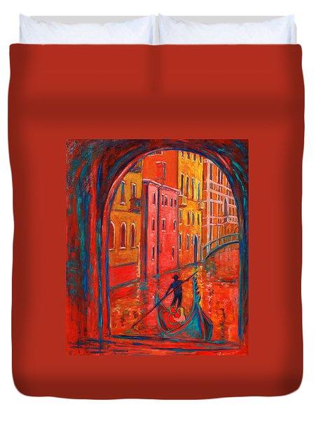 Venice Impression Viii Duvet Cover