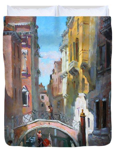 Venice Italy Duvet Cover