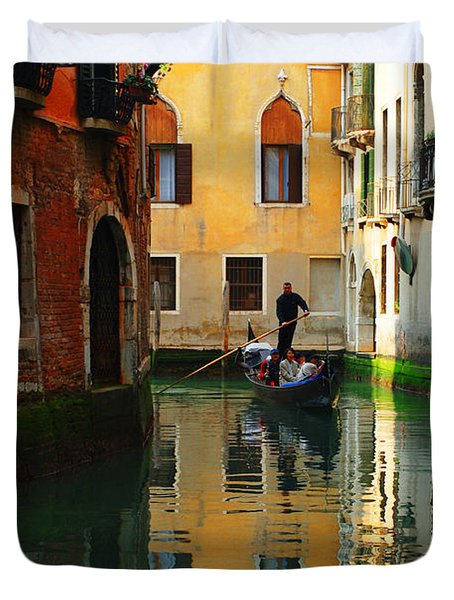 Venice Reflections Duvet Cover