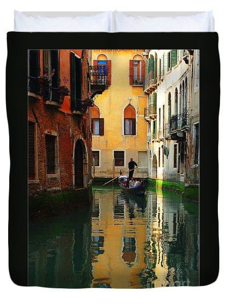Venice Reflections Duvet Cover