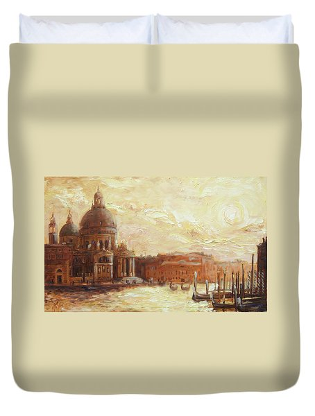 Venice - Santa Maria Della Salute Duvet Cover
