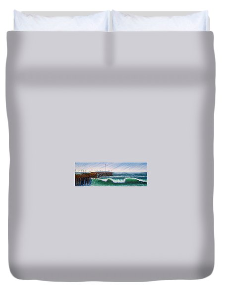 Ventura Pier Duvet Cover