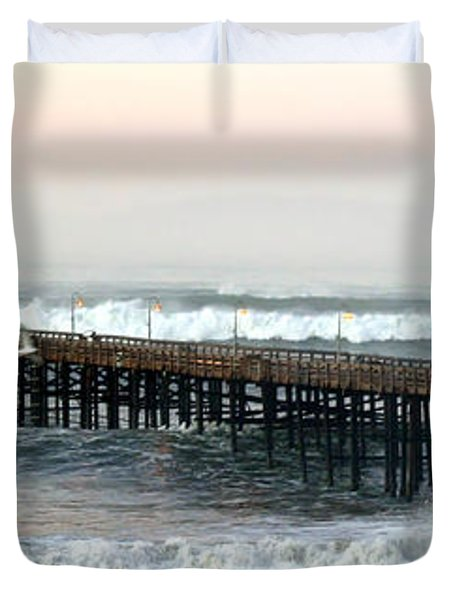Ventura Storm Pier Duvet Cover