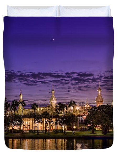 Venus Over The Minarets Duvet Cover