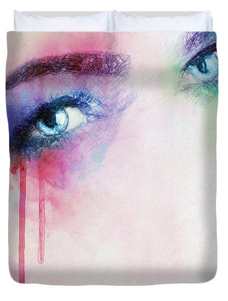 Vera Duvet Cover by Taylan Apukovska