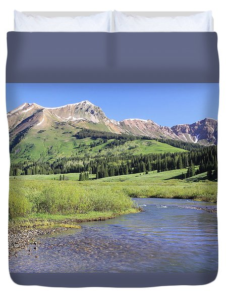 Verdant Valley Duvet Cover