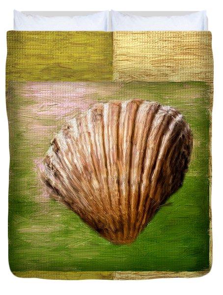 Verde Beach Duvet Cover by Lourry Legarde