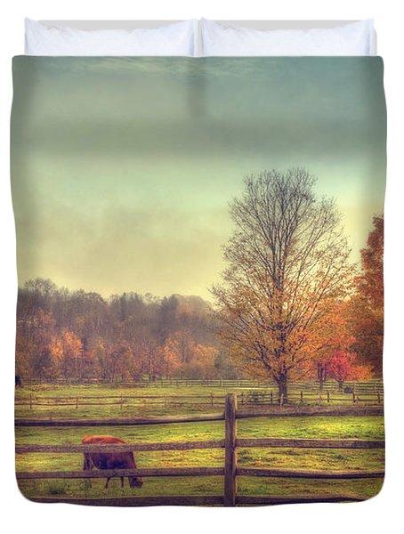 Vermont Farm In Autumn Photograph By Joann Vitali