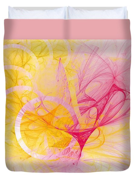 Vernal Equinox Duvet Cover