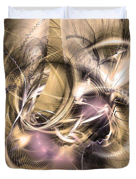 Vestigium Aeternum - Abstract Art  Duvet Cover