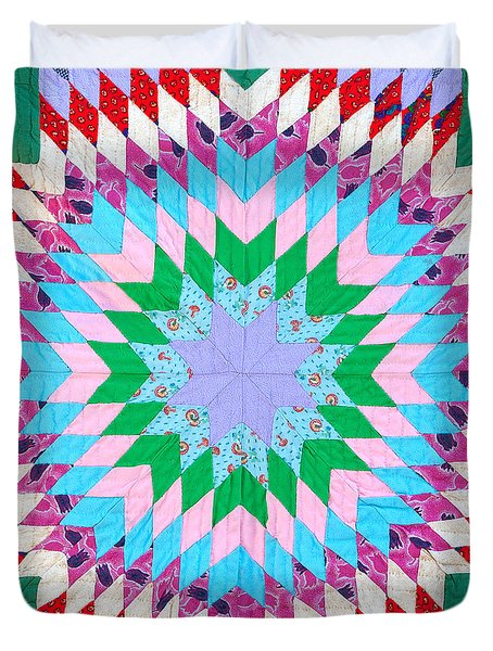 Vibrant Quilt Duvet Cover by Art Block Collections