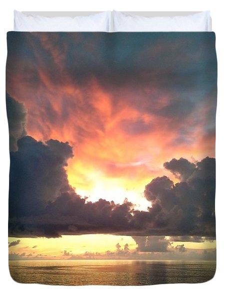 Vibrant Skies 2 Duvet Cover