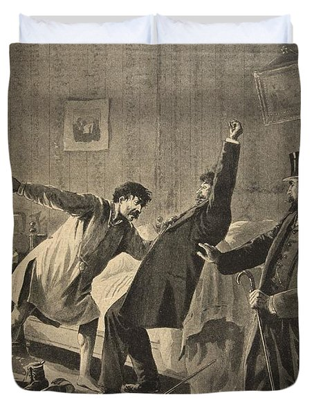 Victim Of Duty, Illustration From Le Duvet Cover