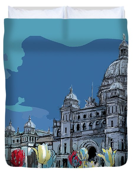 Victoria Art 007 Duvet Cover by Catf