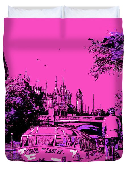 Victoria Art 012 Duvet Cover by Catf