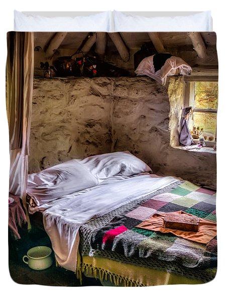 Victorian Bedroom Duvet Cover by Adrian Evans