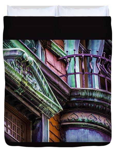 Victorian Color Duvet Cover