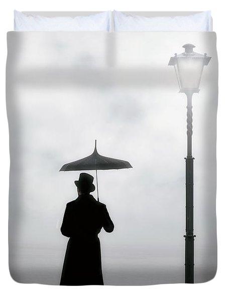 Victorian Man Duvet Cover
