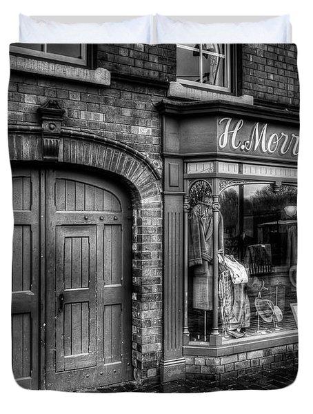 Victorian Menswear Duvet Cover by Adrian Evans