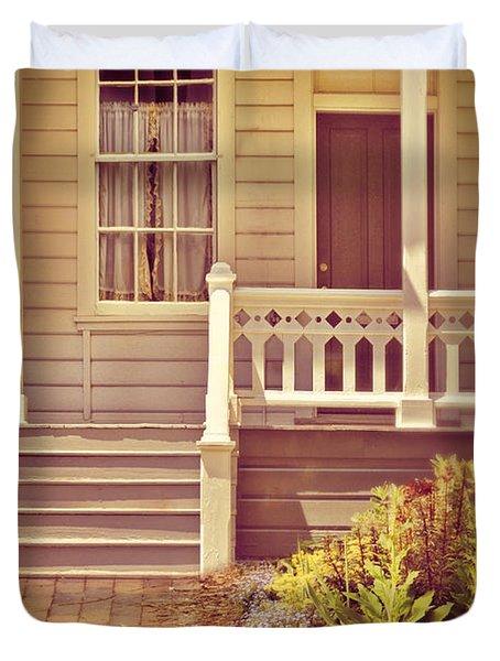 Victorian Porch Duvet Cover