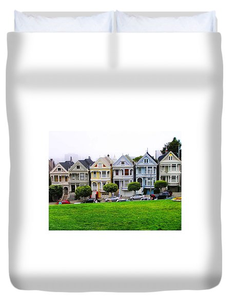 San Francisco Architecture Duvet Cover