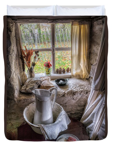 Victorian Wash Area Duvet Cover by Adrian Evans