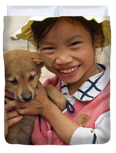 Vietnamese Girl 02 Duvet Cover