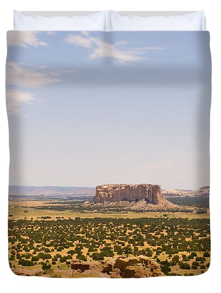 View From Acoma Mesa Duvet Cover