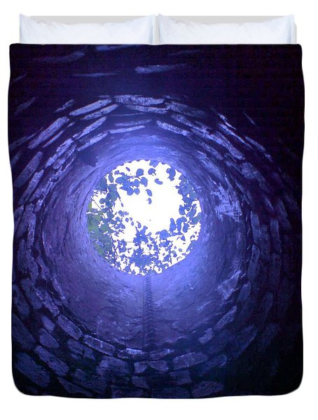 Duvet Cover featuring the photograph View From Below by John Williams