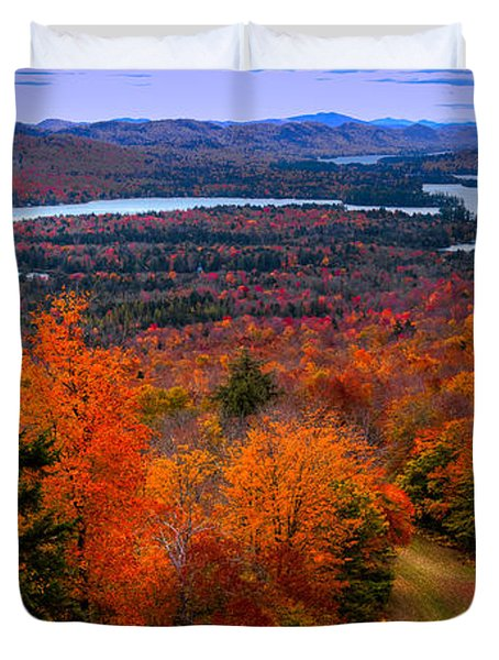 View From Mccauley Mountain II Duvet Cover