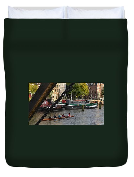 'skinny Bridge' Amsterdam Duvet Cover