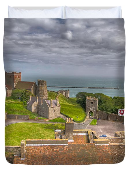 View From The Great Tower Duvet Cover by Tim Stanley
