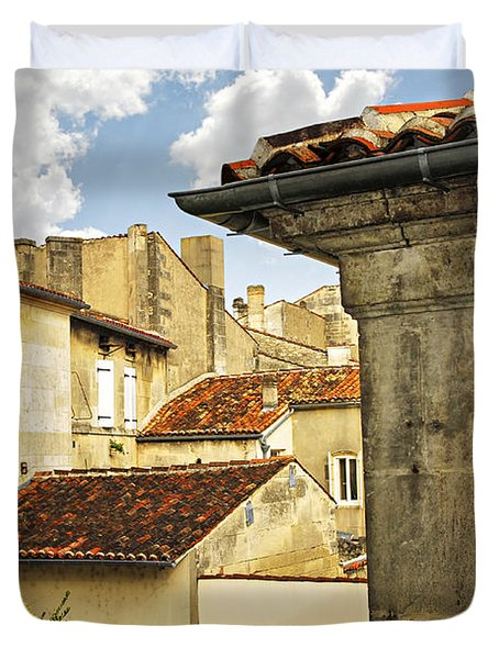 View In Cognac Duvet Cover by Elena Elisseeva