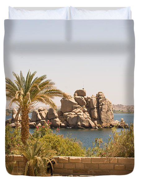 View Of Lake Duvet Cover
