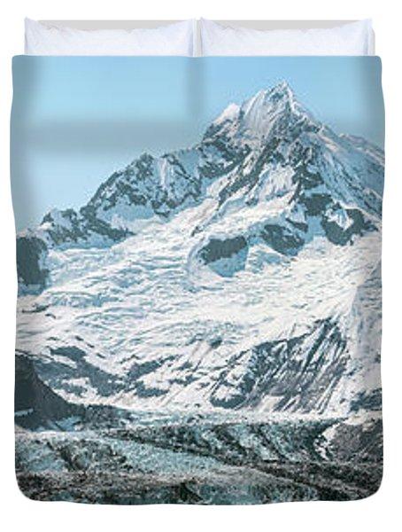 View Of Margerie Glacier In Glacier Bay Duvet Cover