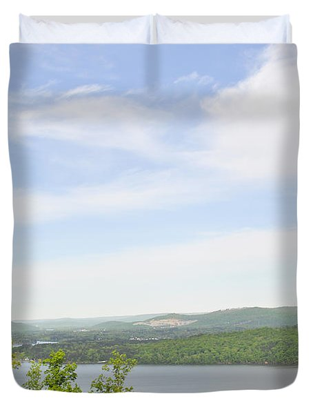 View Of The Mountains Of Alabama Duvet Cover