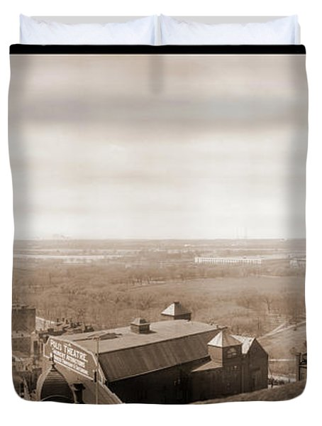 View Of Washington Dc From Willard & Duvet Cover by Fred Schutz Collection