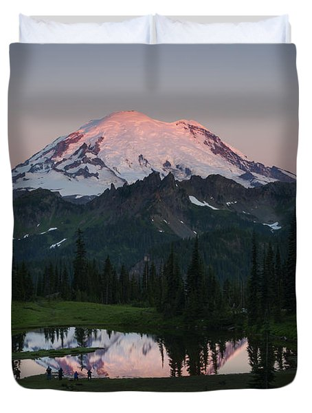 View To Be Shared Duvet Cover