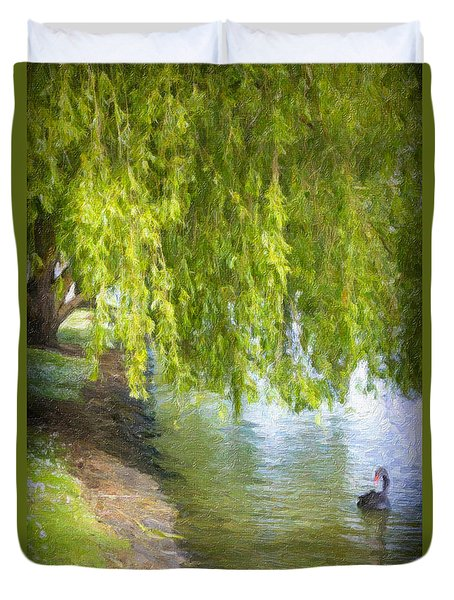 Views From The Lake V - Tranquility Duvet Cover
